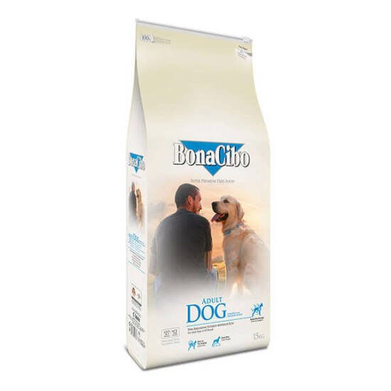 BONACIBO ADULT DOG (Chicken&Rice with Anchovy) 15 kg