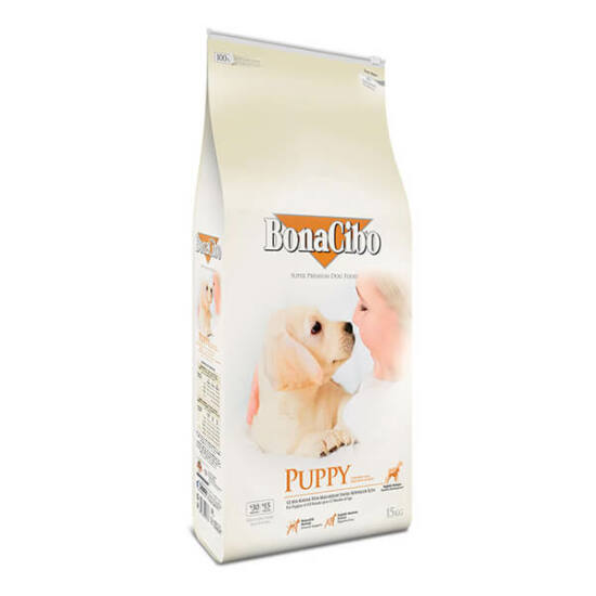 BONACIBO PUPPY (Chicken&Rice with Anchovy) 15 kg