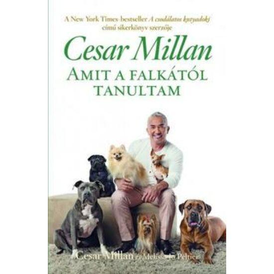 Könyv-Cesar Millan- Amit a falkától tanultam