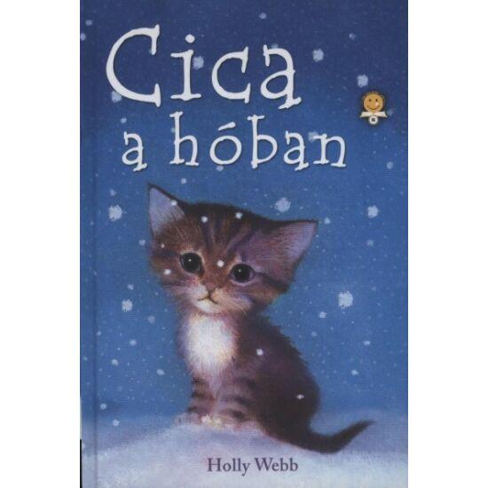 Könyv-Cica a hóban