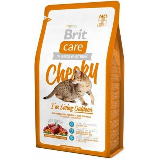 BRIT CARE Cat Cheeky I'm Living Outdoor 0,4kg