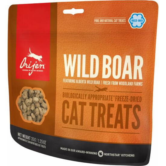 ORIJEN FREEZE DRIED jutalomfalatok Wild Boar Cat 0,035kg