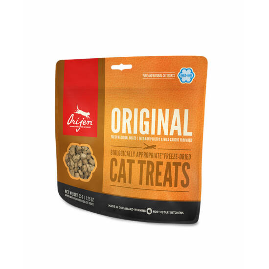 ORIJEN FREEZE DRIED jutalomfalatok Original Cat 0,035kg