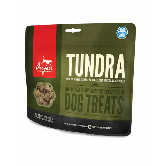ORIJEN FREEZE DRIED jutalomfalatok Tundra  0,0425kg