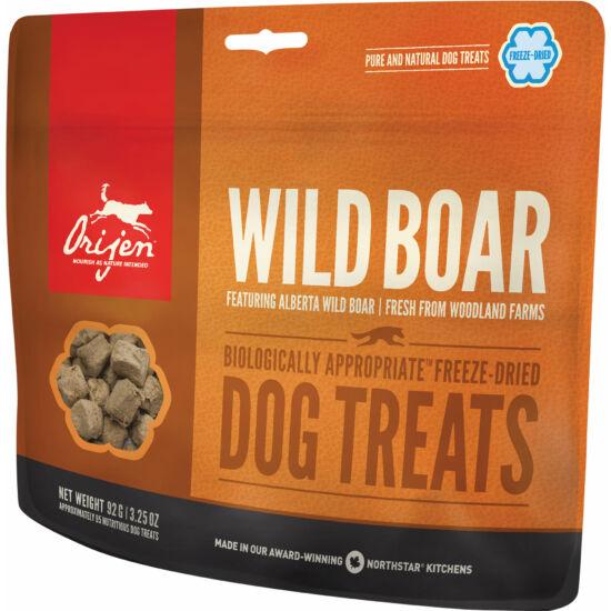 ORIJEN FREEZE DRIED jutalomfalatok Wild Boar 0,0425kg