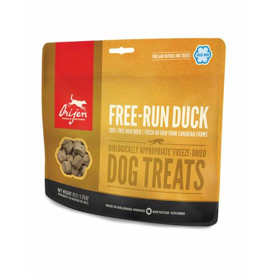 ORIJEN FREEZE DRIED jutalomfalatok Free-Run Duck 0,092kg