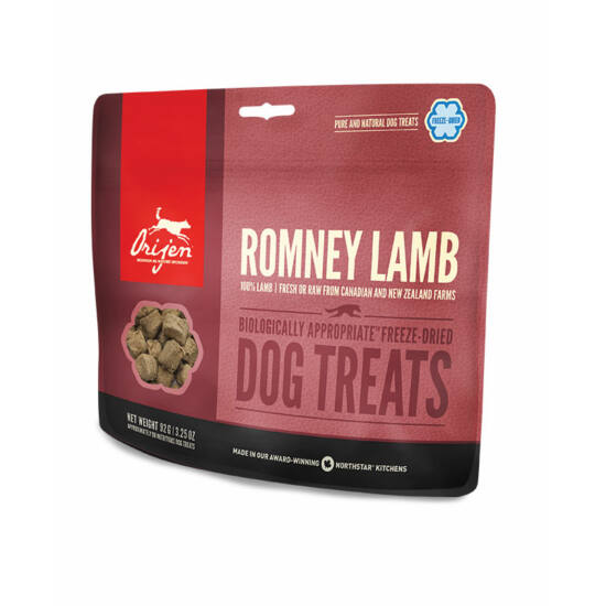 ORIJEN FREEZE DRIED jutalomfalatok Romney Lamb 0,092kg