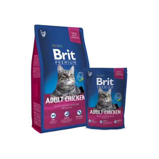 Brit Premium Cat Adult chicken 0,8kg