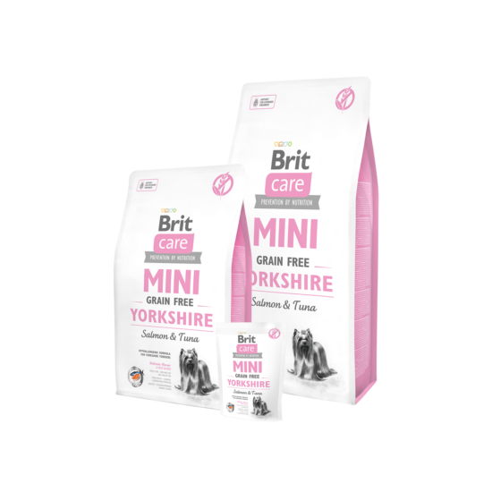 Brit Care Mini Grain Free Yorkshire Salmon & Tuna 7 kg