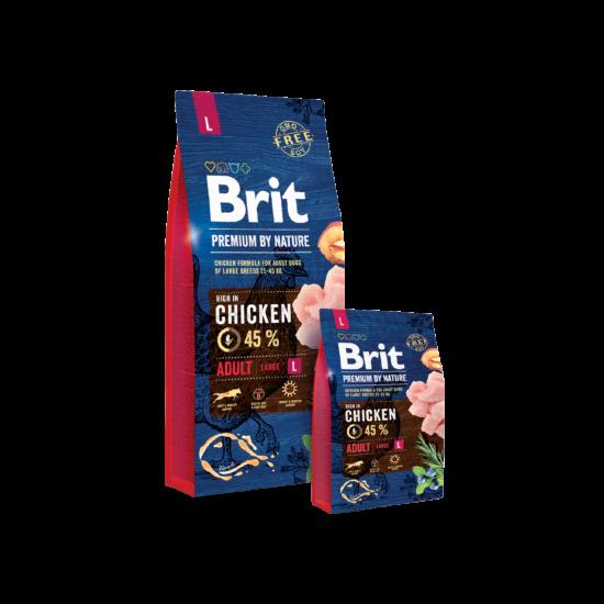 Brit Premium by Nature Large Adult 2db 15kg
