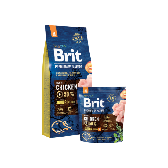 Brit Premium by Nature Medium Junior 3kg