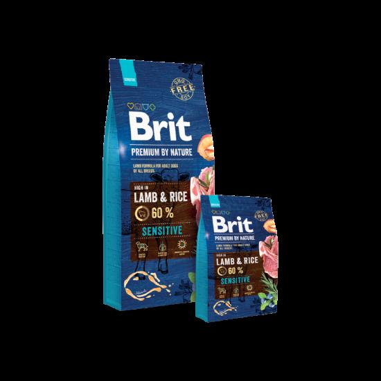 Brit Premium by Nature Lamb & Rice 3kg