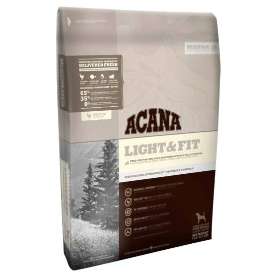 ACANA HERITAGE Light & Fit 11,4kg 2db