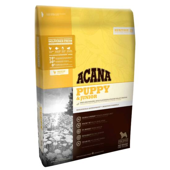 ACANA HERITAGE Puppy & Junior    11,4kg 2db