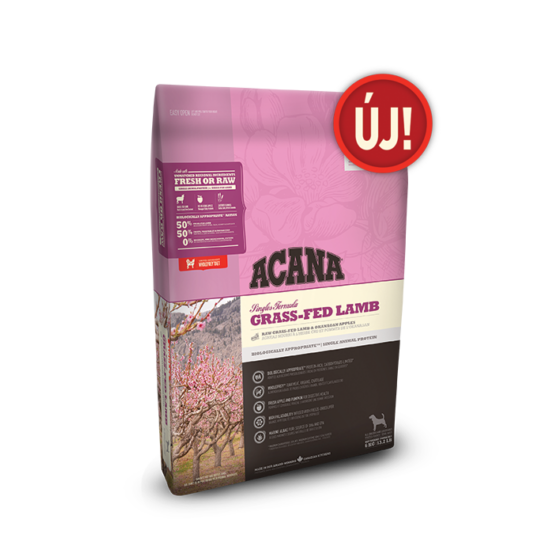 ACANA SINGLE Grass-Fed Lamb 11,4kg 3db