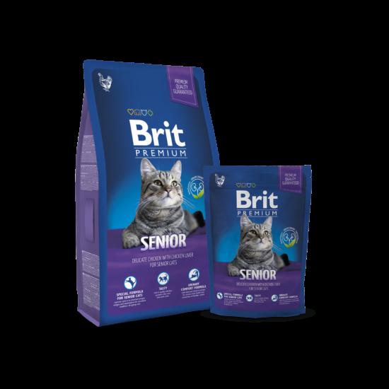 Brit Premium Cat Senior 0,8kg