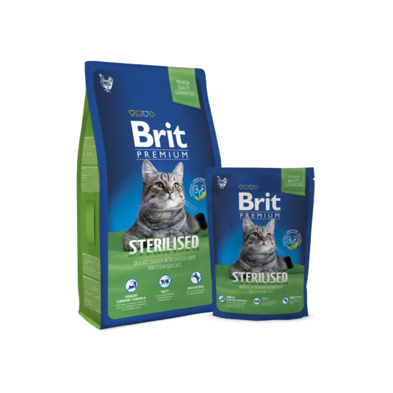 Brit Premium Cat Sterilised 8kg