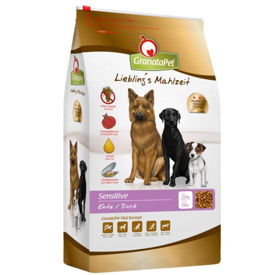 GranataPet Liebling's Mahlzeit sensitive kacsa felnőtt kutyatáp