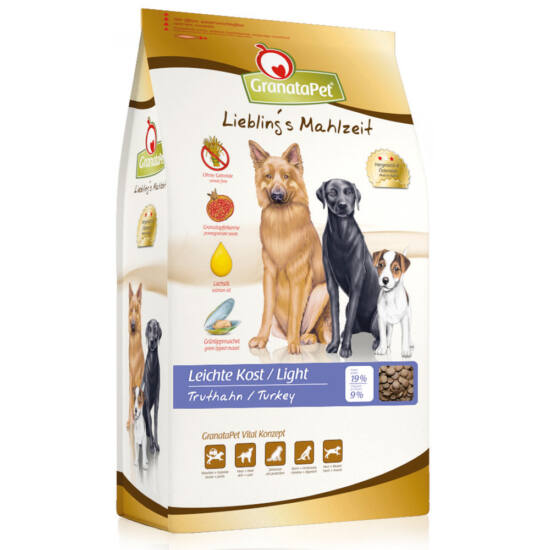 Granatapet Liebling's Mahlzeit Light kutyatáp