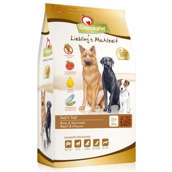 GranataPet Liebling's Mahlzeit marha-garnéla kutyatáp