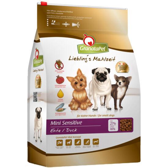GranataPet Liebling's Mahlzeit Mini Sensitive kacsa kutyatáp 2 kg