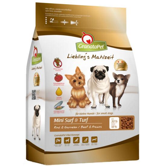 GranataPet Liebling's Mahlzeit Mini marha-garnéla kutyatáp 2 kg