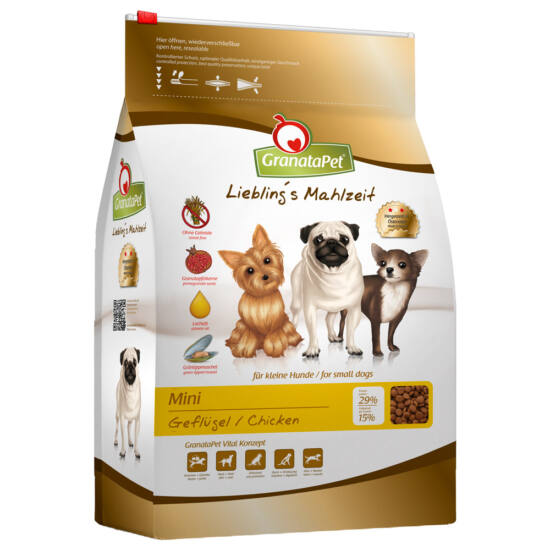 GranataPet Liebling's Mahlzeit Mini szárnyas kutyatáp 2 kg
