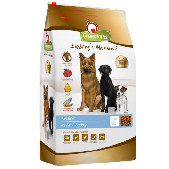 GranataPet Liebling's Mahlzeit pulyka senior kutyatáp