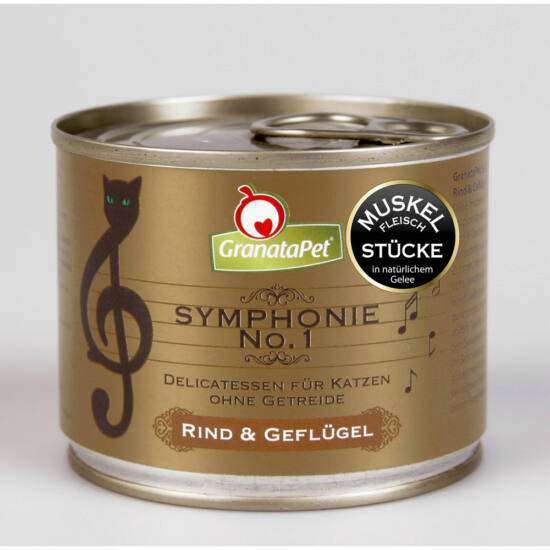 GranataPet Symphonie Nr. 1 marha és szárnyas konzerv