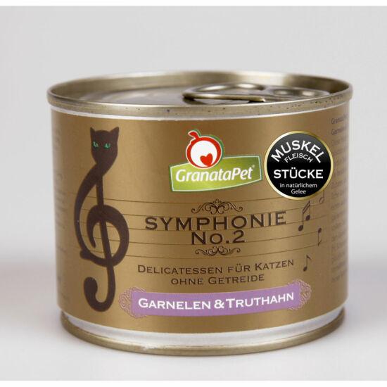 GranataPet Symphonie Nr. 2 garnélarák és pulyka konzerv