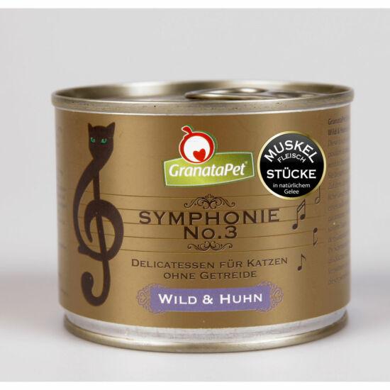 GranataPet Symphonie Nr. 3 vad és csirke konzerv