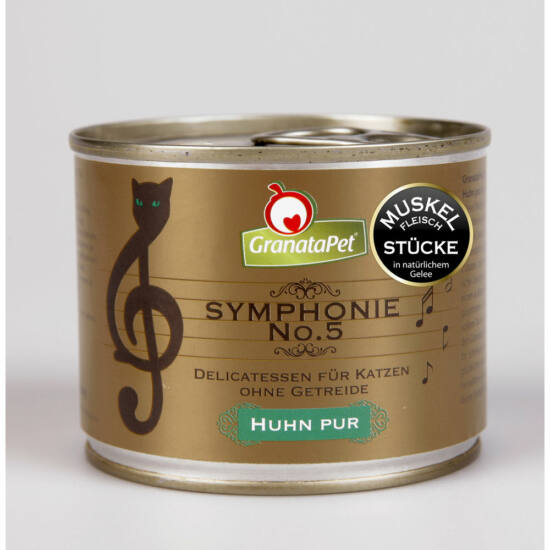GranataPet Symphonie Nr. 5 csirke PUR konzerv