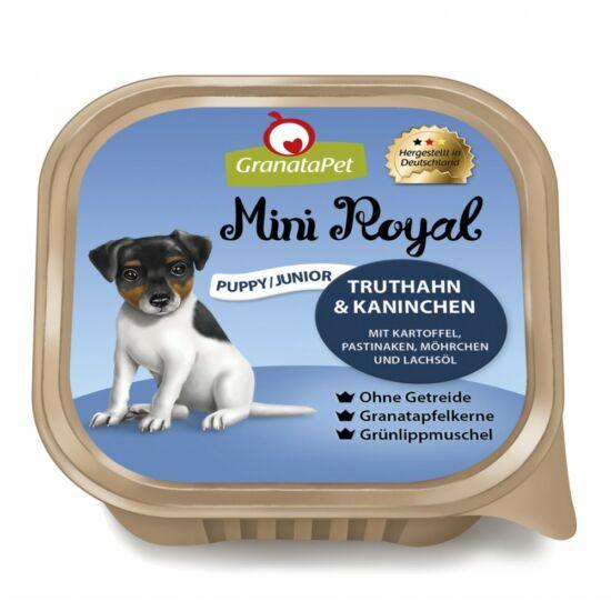 GranataPet Mini Royal Puppy/Junior pulyka és nyúl