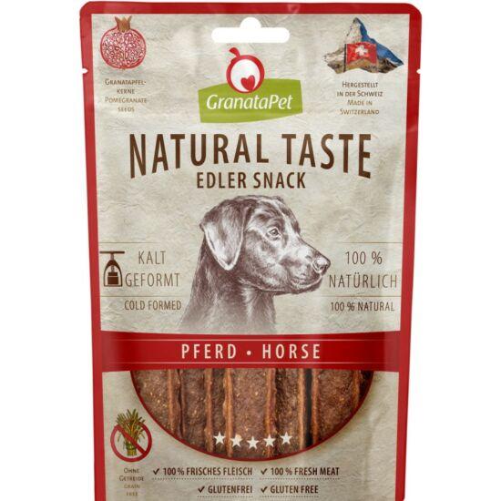 GranataPet Natural Snack lóhúsos