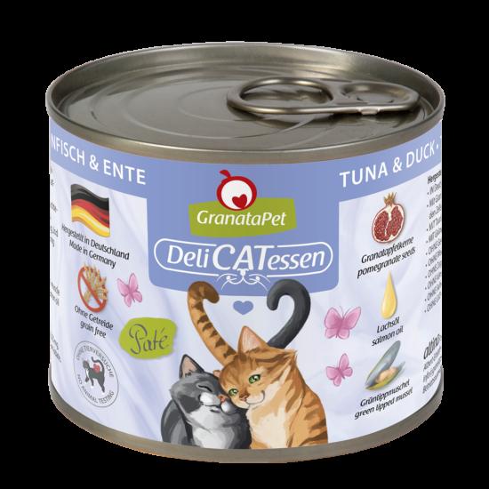 GranataPet Katze - Delicatessen tonhal és kacsa konzerv