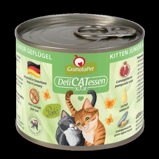 GranataPet Katze - Delicatessen Kitten szárnyas konzerv