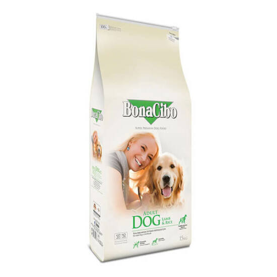 BONACIBO ADULT DOG (Lamb&Rice) 15 kg