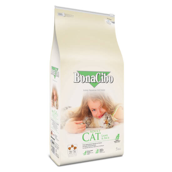 BONACIBO CAT (Lamb&Rice) 5 kg