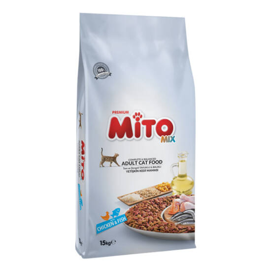 MITO MIX COLOR CAT (Chicken & Vegs) 15 kg