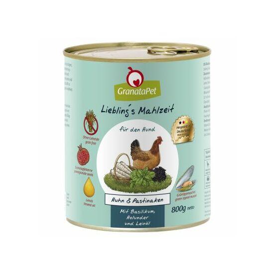 GranataPet Liebling´s Mahlzeit  csirke és paszternák konzerv bodzával és lenolajjal