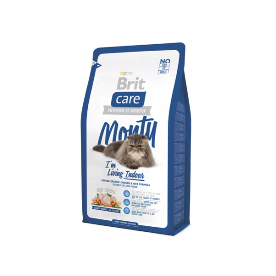 BRIT CARE Cat Monty Living Indoor 7kg
