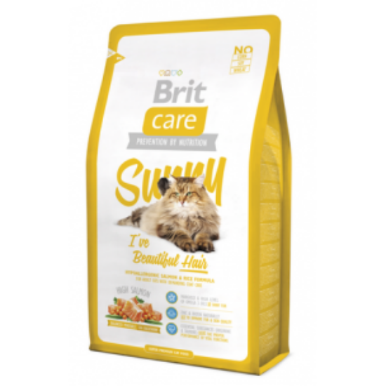 BRIT CARE Cat Sunny Beautiful Hair 0,4kg