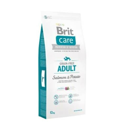 Brit Care Grain-free Adult Salmon & Potato 12 kg 2db