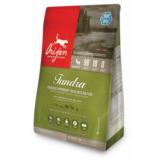 ORIJEN FREEZE DRIED Tundra 0,17kg