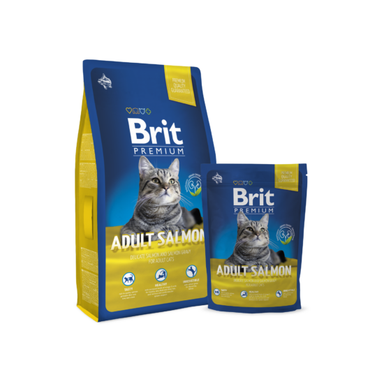Brit Premium Cat Adult salmon 0,8kg