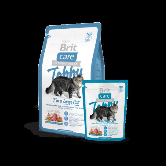 Brit Care Cat Tobby I´m a Large Cat 0,4Kg