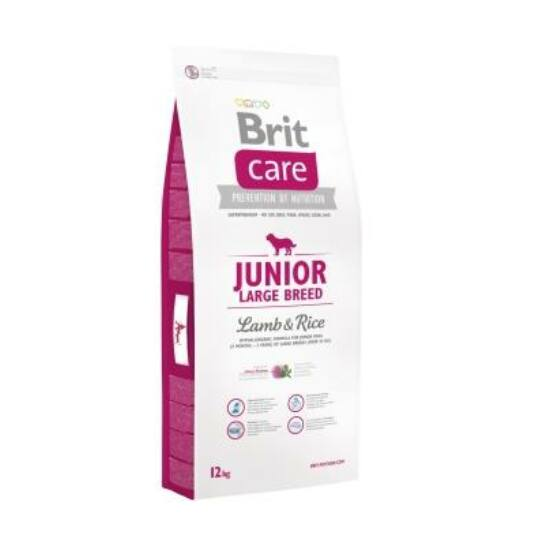 Brit Care Junior Large Breed Lamb & Rice 12 kg 2db