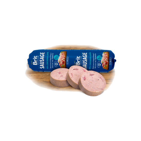 Brit Premium Sausage Chicken & Lamb 800G