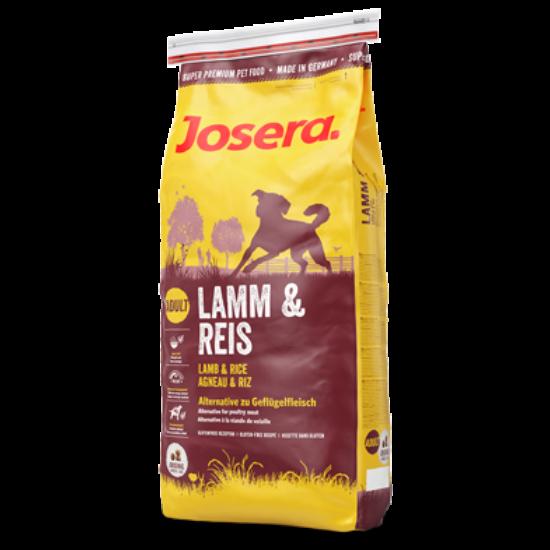 Josera Lamb & Rice 2db 15kg