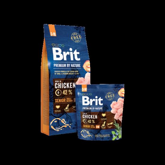 Brit Premium by Nature Small/Medium Senior 8Kg